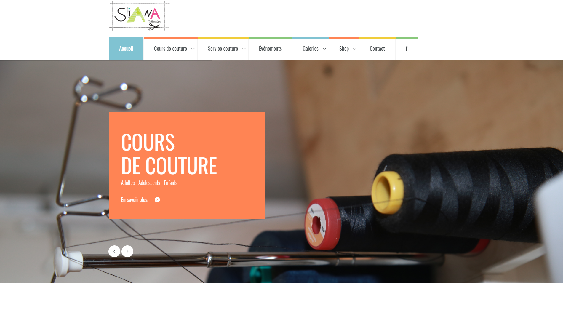 Siana Collection - Edition du site